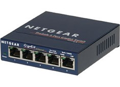 Netgear GS105 5 Port Gigabit Ethernet Switch