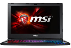 MSI GS60 Ghost Pro 15.6in Core i7 Gaming Notebook [6QE-015AU]