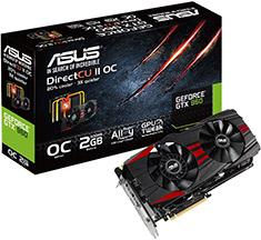 ASUS GeForce GTX 960 DirectCU II Black 2GB