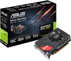 ASUS GeForce GTX 960 Mini OC 2GB