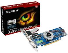 Gigabyte Radeon HD5450 1GB