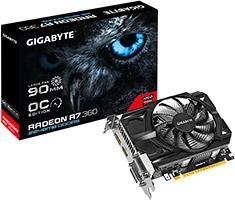 Gigabyte Radeon R7 360 OC 2GB