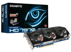 Gigabyte Radeon HD7970 Overclocked 3GB