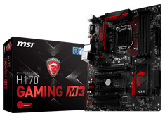 MSI H170 Gaming M3 Motherboard