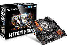 ASRock H170M Pro4 Motherboard