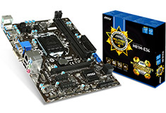 MSI H81M-E34 Motherboard