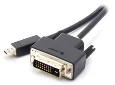 Alogic Micro HDMI to DVI Cable Male to Male 3m