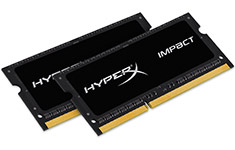 Kingston HyperX Impact HX321LS11IB2K2/8 (2x4GB) DDR3L SODIMM