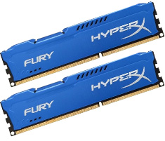 Kingston HyperX Fury HX318C10FK2/8 8GB (2x4GB) Blue