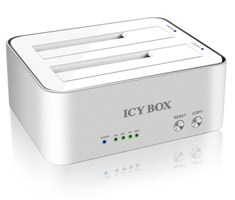 ICY BOX 2 Bay Docking and Clone Station
