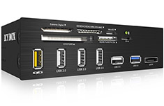 Icy Box IB-867-B 5.25in USB 3.0 Multi Card Reader