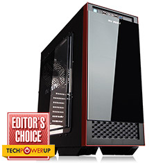 In Win 503 Mid Tower Case Black