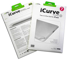 JCPAL iCurve 2in1 Screen Protector & Protective Skin for iPad 2