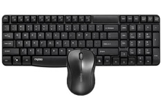 Rapoo 1860 Wireless Keyboard & Mouse Combo