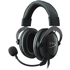 HyperX Cloud II Gaming Headset Gun Metal