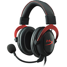 HyperX Cloud II Gaming Headset Red