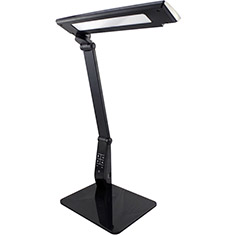 LEDware 10W Colour Adjust Dimmable Desk Lamp Black