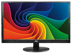 AOC M2470SWH 23.6in MVA Widescreen LED Monitor