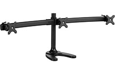 Atdec Spacedec Freestanding Triple Monitor Mount