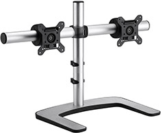 Atdec Visidec Freestanding LCD Dual Monitor Stand