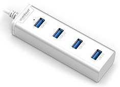 mBeat 4 Port USB 3.0 Stick Hub