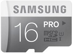 Samsung Pro 16GB Micro SDHC