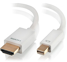 Alogic Mini DisplayPort to HDMI Cable Male to Male 3m
