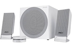 Microlab FC20 Finecone 2.1 Speakers White
