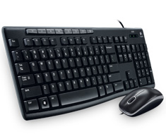 Logitech Media Combo MK200 Keyboard and Mouse Pack