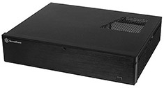Silverstone ML04B Black Slim HTPC Case