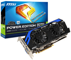 MSI GeForce GTX 670 Power Edition OC 2GB