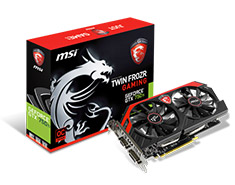 MSI GeForce GTX 750 Ti Gaming 2GB