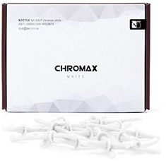 Noctua White Chromax Anti Vibration Mounting Bolts 20 Pack