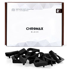 Noctua Chromax Anti Vibration Pads 16 Pack Black