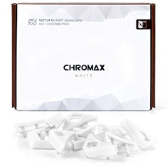 Noctua White Chromax Anti Vibration Pads 16 Pack