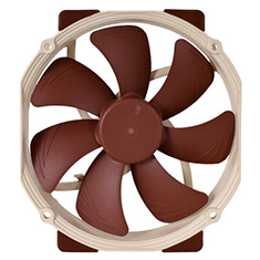 Noctua NF-A15 PWM 140mm Fan with 120mm Mounts