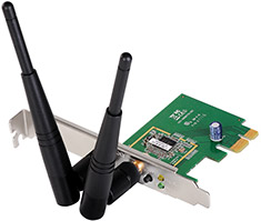 Edimax EW-7612PIN Wireless N 300 PCI-E Adapter
