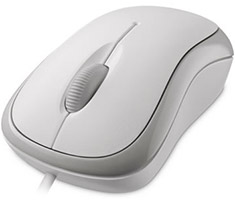 Microsoft Basic Optical Mouse White
