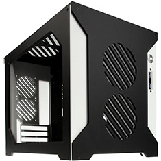 Parvum Systems S2.0 Micro ATX Case Black/White