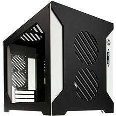 Parvum Systems S2.0 Micro ATX Case Black/White