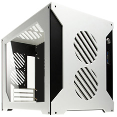 Parvum Systems S2.0 Micro ATX Case White/Black