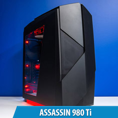 PCCG Assassin 980 Ti Gaming System