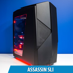PCCG Assassin SLI Gaming System