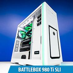 PCCG Battlebox 980 Ti SLI Gaming System