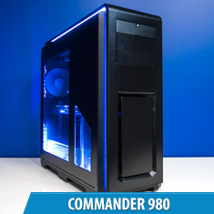 PCCG Commander 980 Gaming System