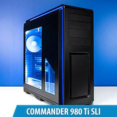 PCCG Commander 980 Ti SLI Gaming System