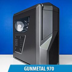 PCCG Gunmetal 970 Gaming System
