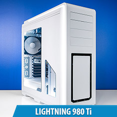 PCCG Lightning 980 Ti Gaming System