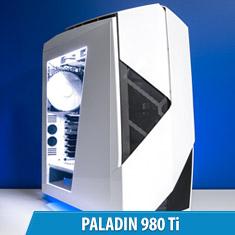 PCCG Paladin 980 Ti Gaming System