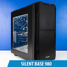 PCCG Silent Base 980 Gaming System